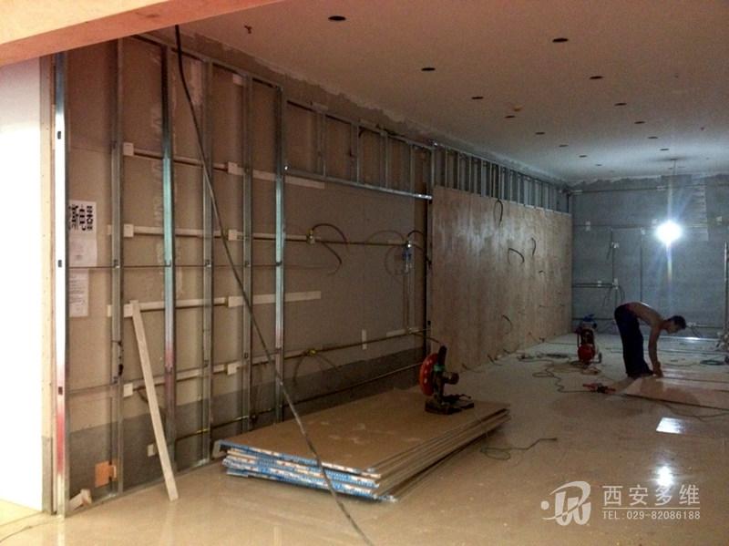 多维企业新闻 大明宫建材家具城正在施工