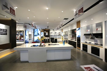 厨电热水器展柜展厅
